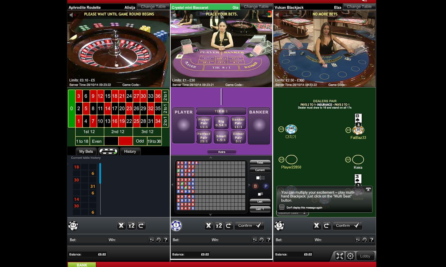 Live Casino online - 54424