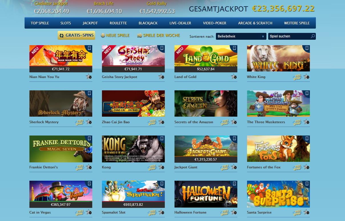 Empfehlung online Casino - 77390