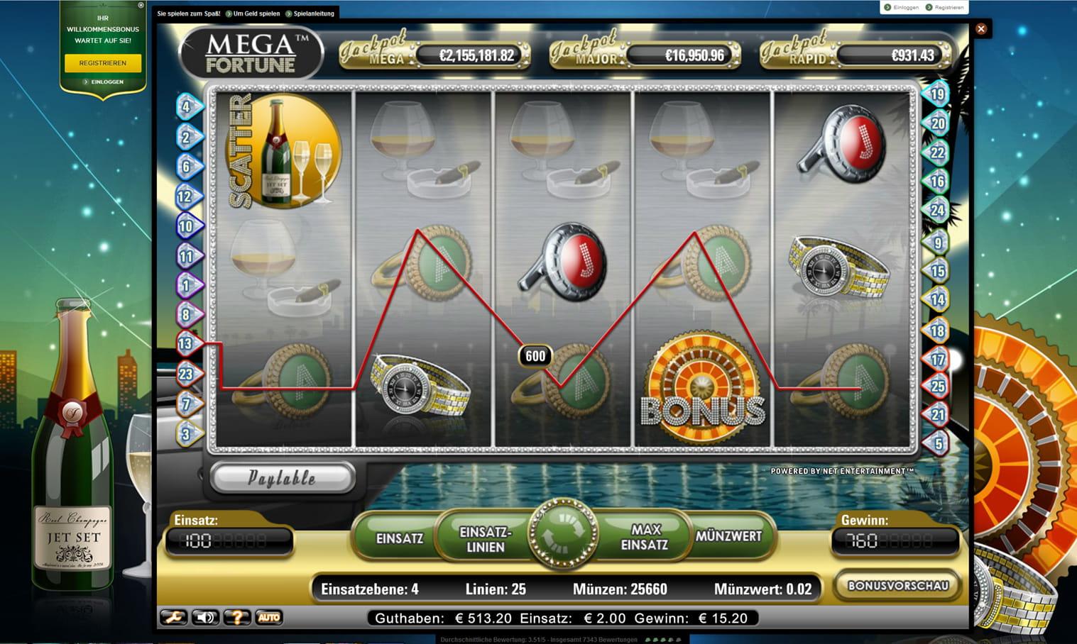 Fortune Jackpot - 74449