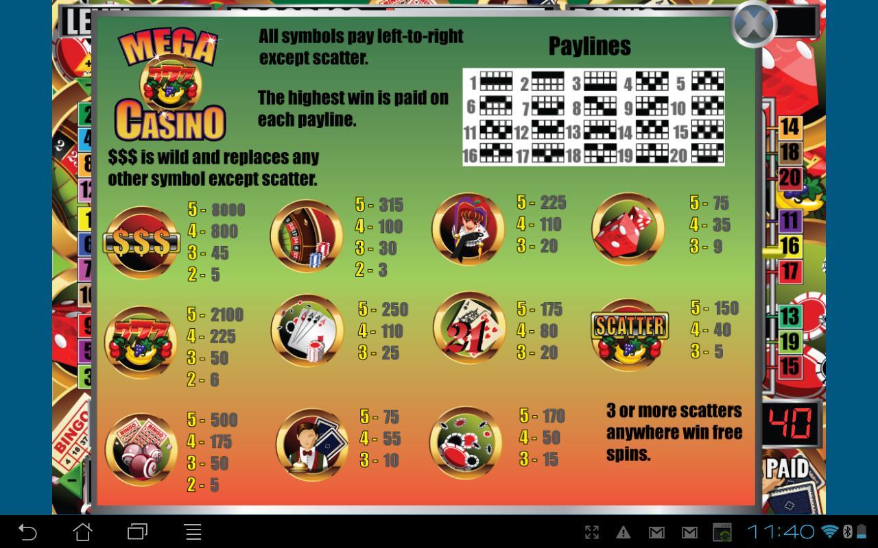 Casino no Deposit Bonus - 3019