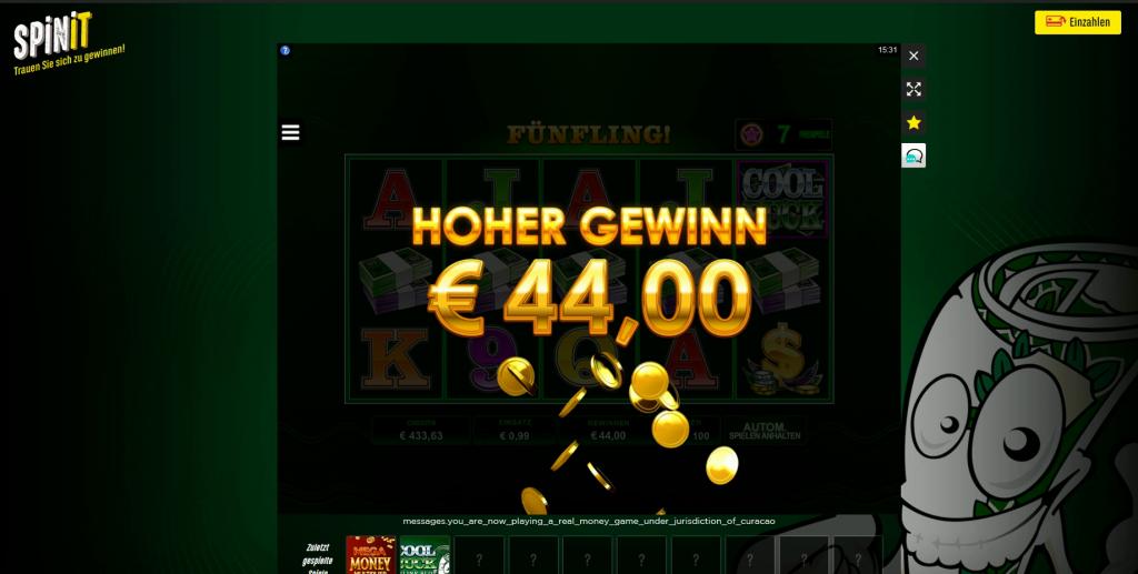 Höchster Gewinn online Casino - 62827
