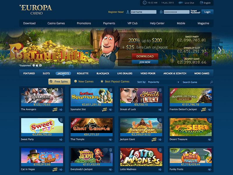 Top Casino in Europa - 23112