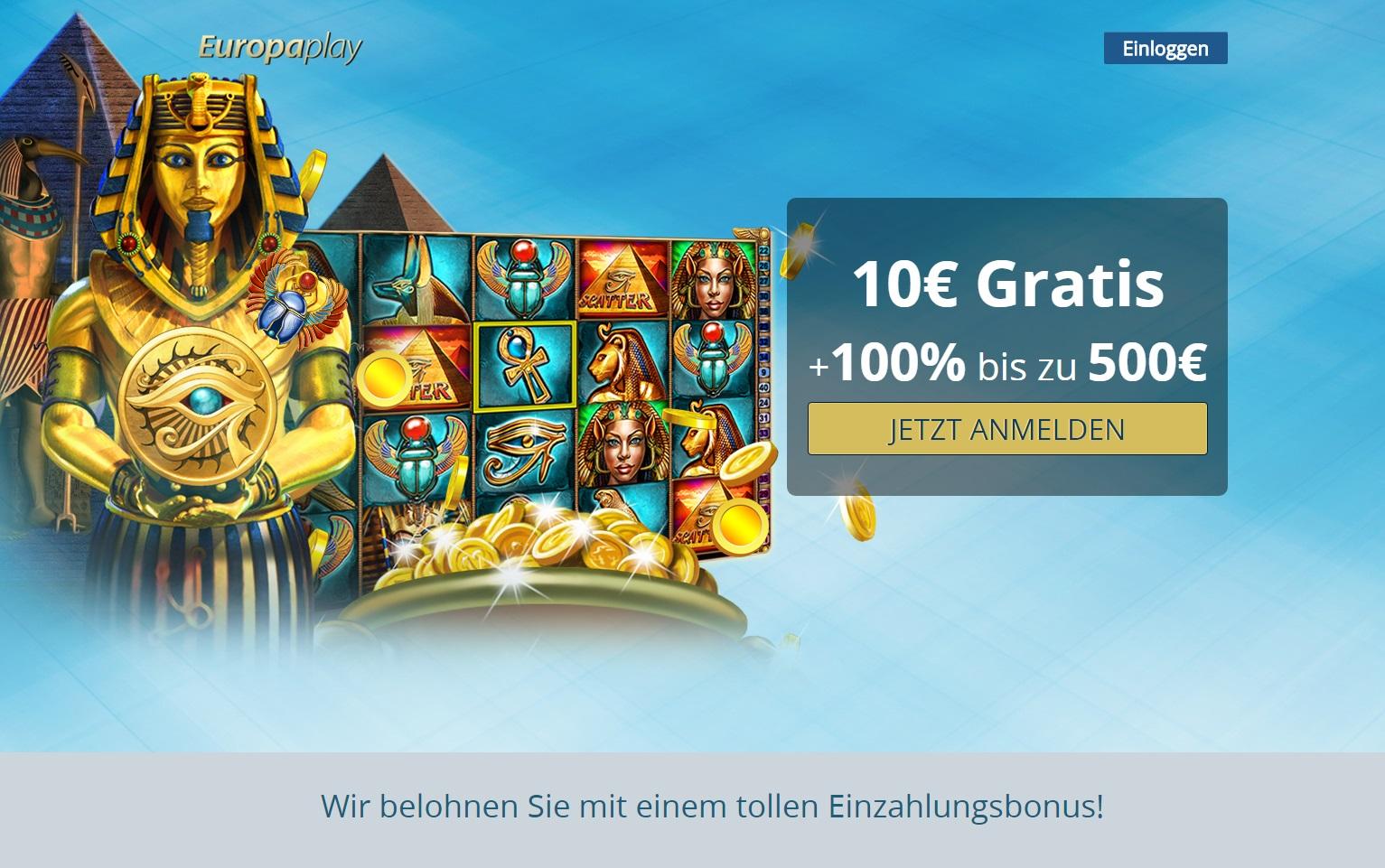 500 Casino Bonus Gratis - 20329