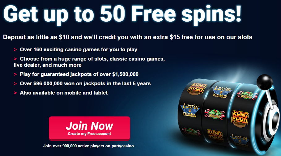Party Casino free - 24240