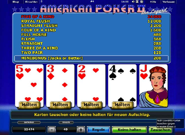 American Poker 2 download - 11154
