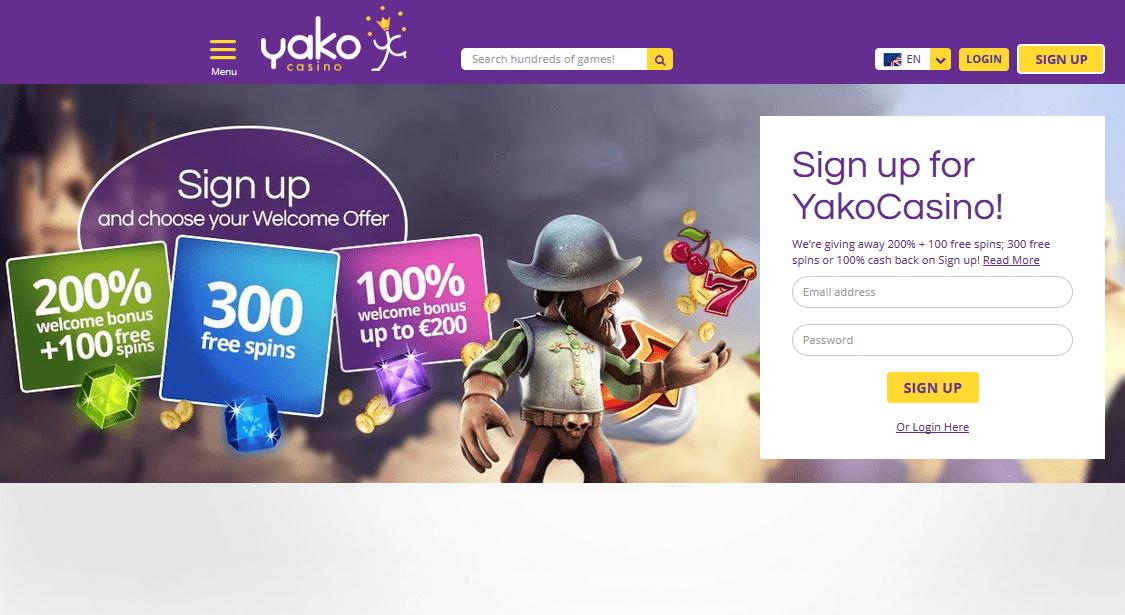 Augenscanner Spielautomaten Yako Casino - 47046