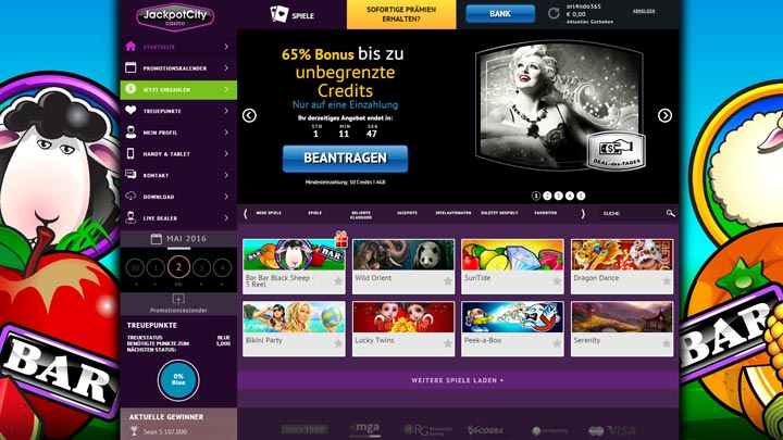 Auszahlungsmodalitäten bei Casino Casollo - 31009