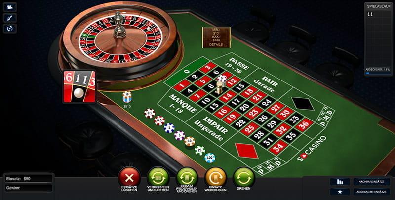 Auszahlungsquote Casino - 9900