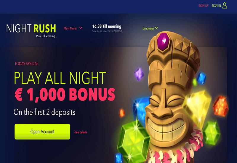 Spielautomaten Microgaming Night Rush - 90173