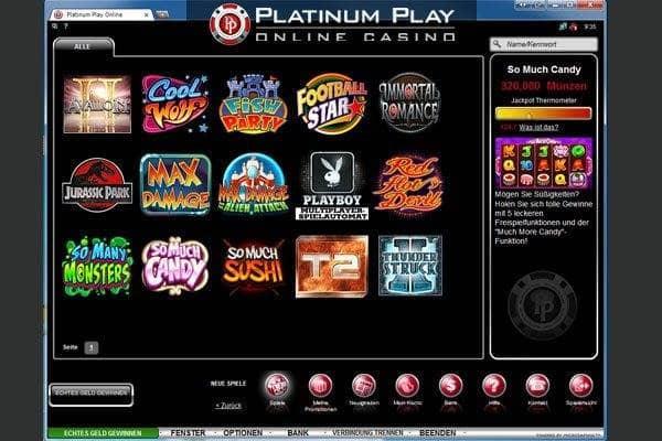 Pure Platinum online - 6340