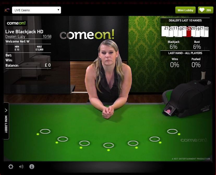 Live Casino Schweiz - 47384