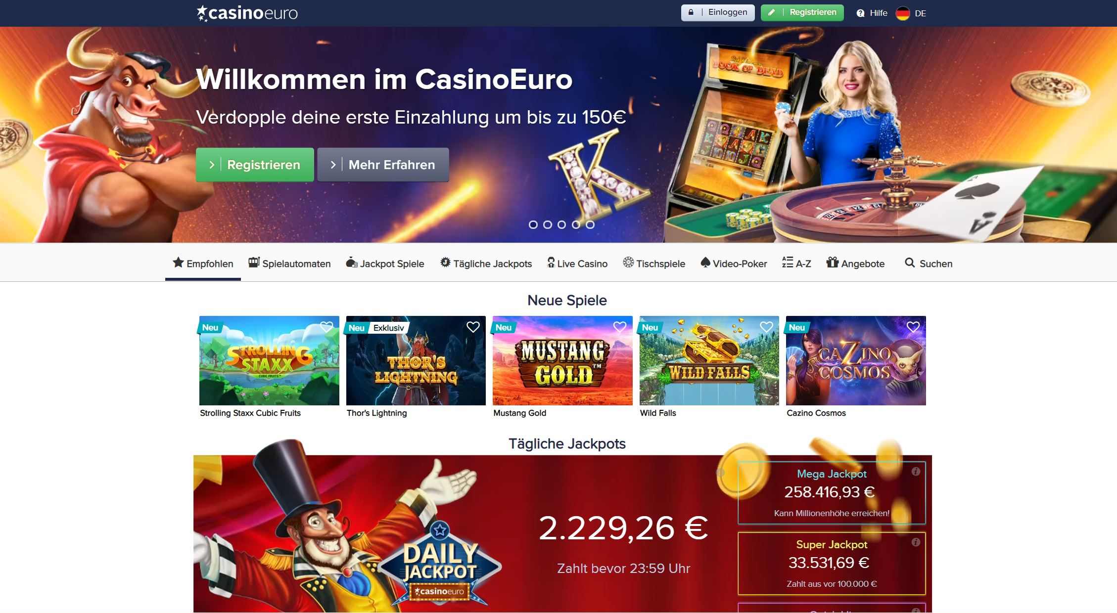 Thunderstruck 2 online casino