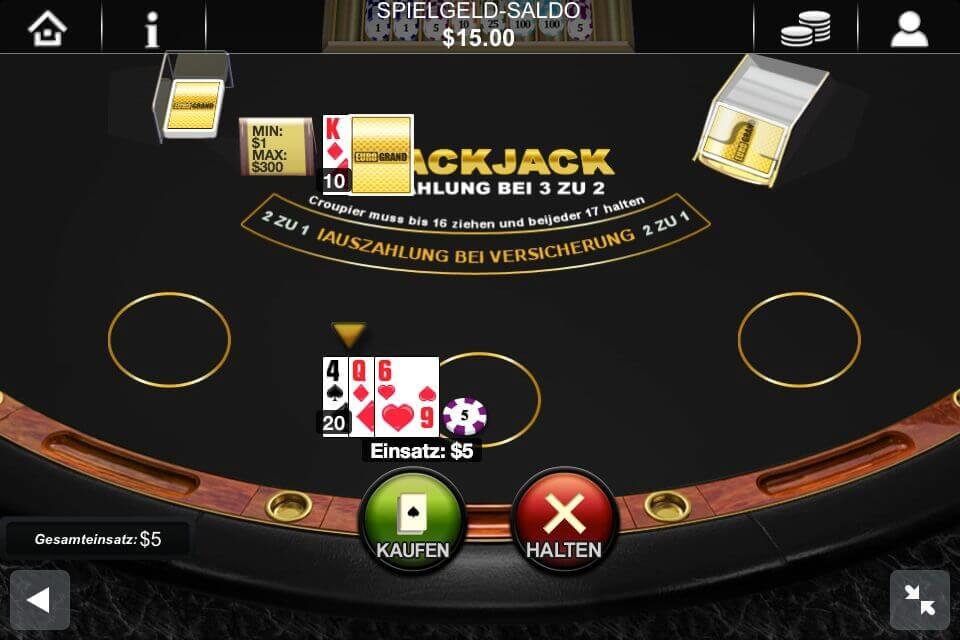 Black Jack Rechner