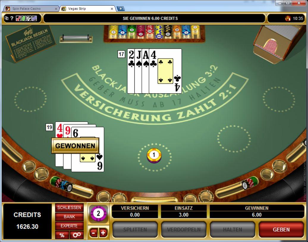 Blackjack Spielgeld Playfrank - 54877
