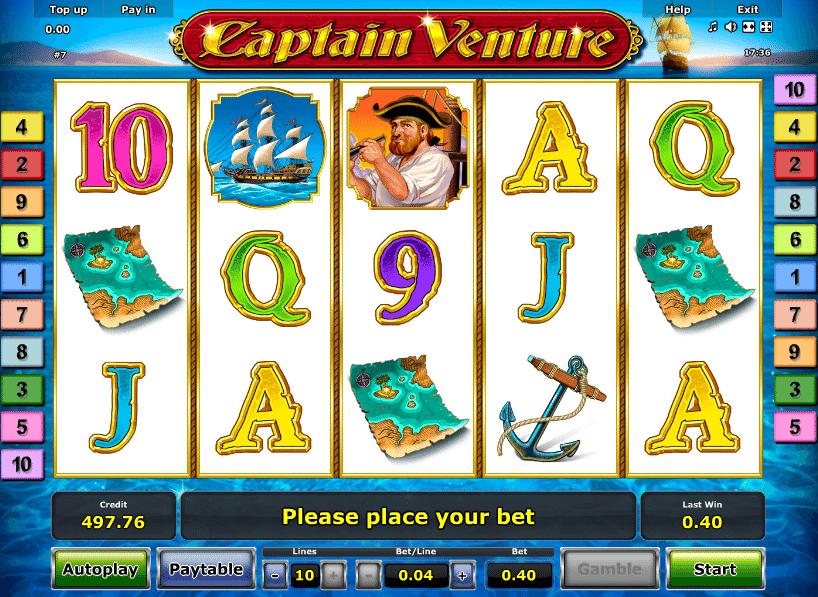 Captain Venture gratis Cherry - 79906