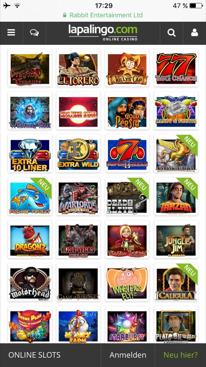 Casino App für Android - 78707