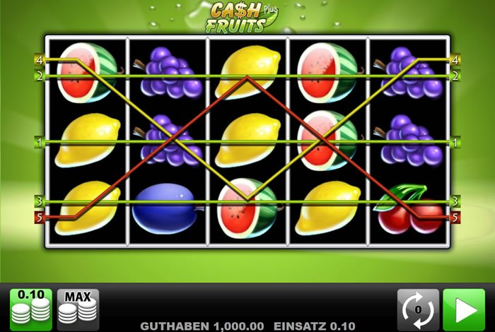 Casino Austria Cash Fruits - 41355