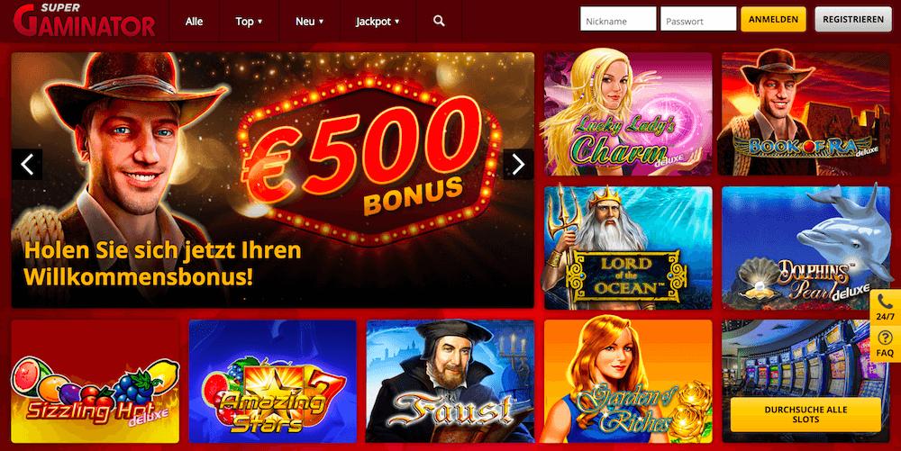 Online Casino Mit Einzahlbonus
