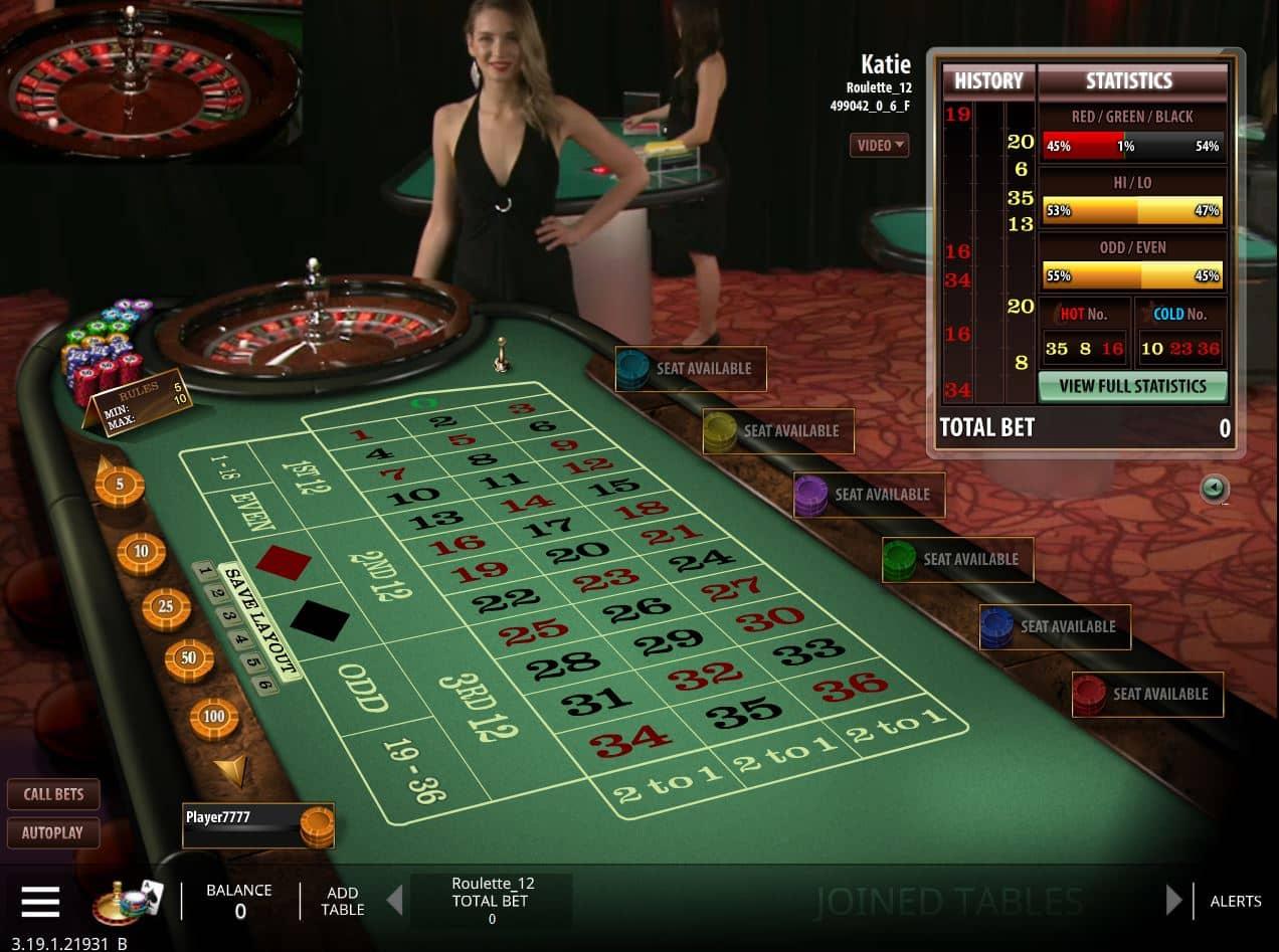 Casino mit Live Tischen - 90096