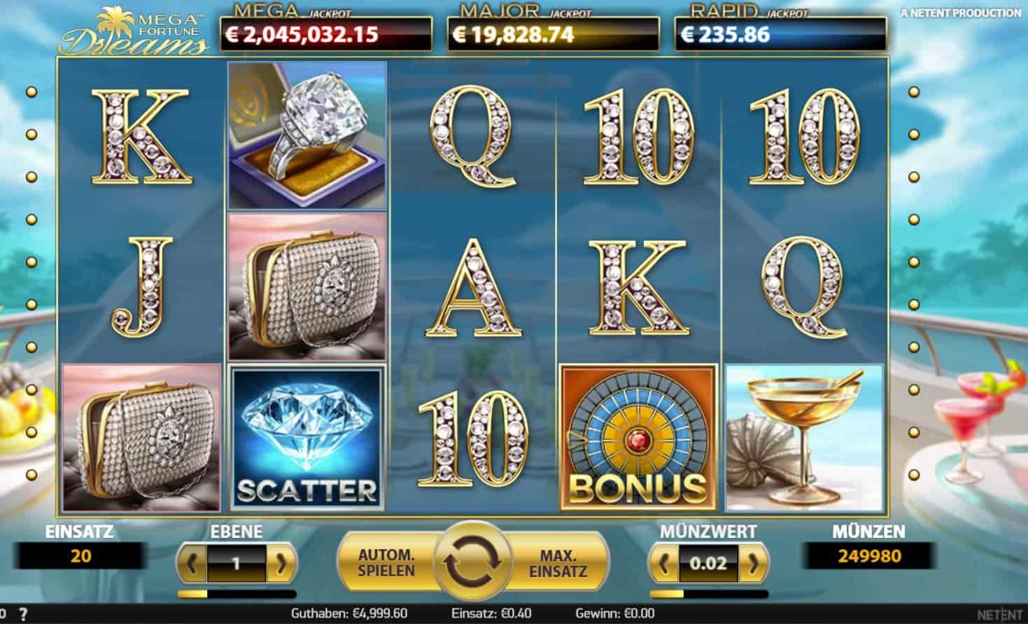 Spielautomat Münzen Fallen Casimba - 68440
