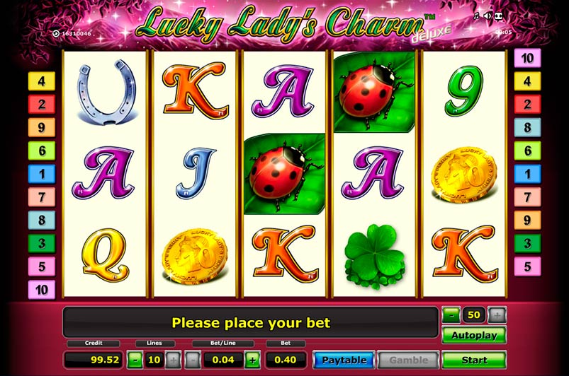 Lucky Lady Charm 6 - 93368