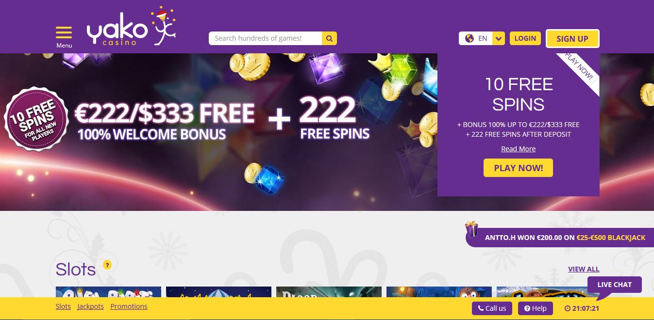 Casino Bonus umsetzen Yako - 43791