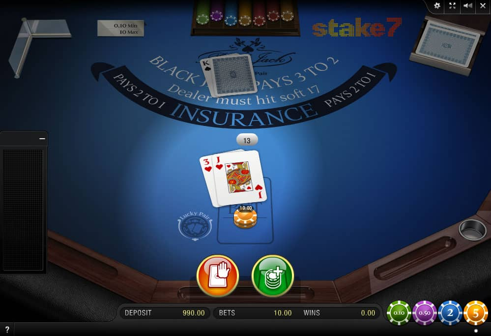 Blackjack Spielgeld Schwarze - 3132