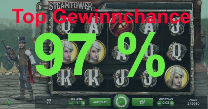 Spielautomaten beste Gewinnchance - 40460