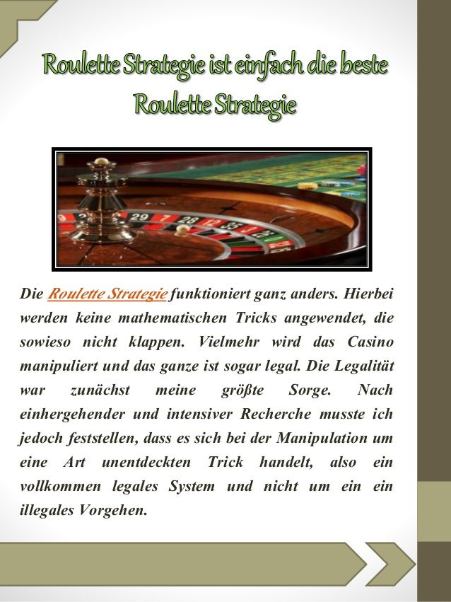 Roulette Strategie pdf - 26405
