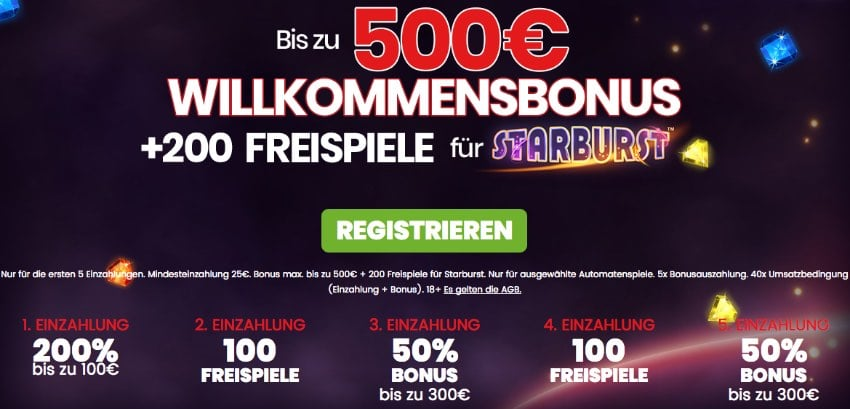 Freispiele 500 Bonus Dresden - 86547