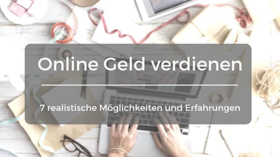 Geld Verdienen online - 2846