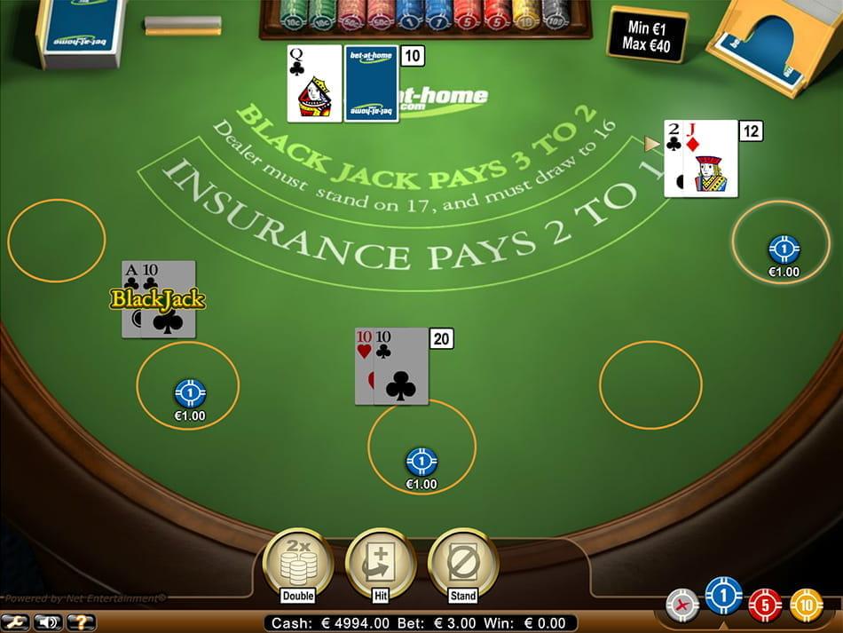 Online casino account