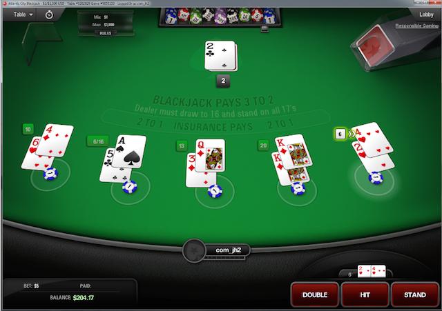 Kartenzählen Online Casino