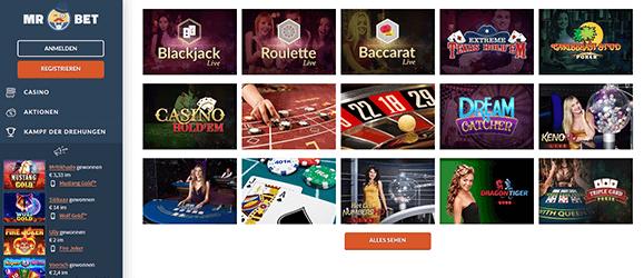 Live Casino online echte - 61447