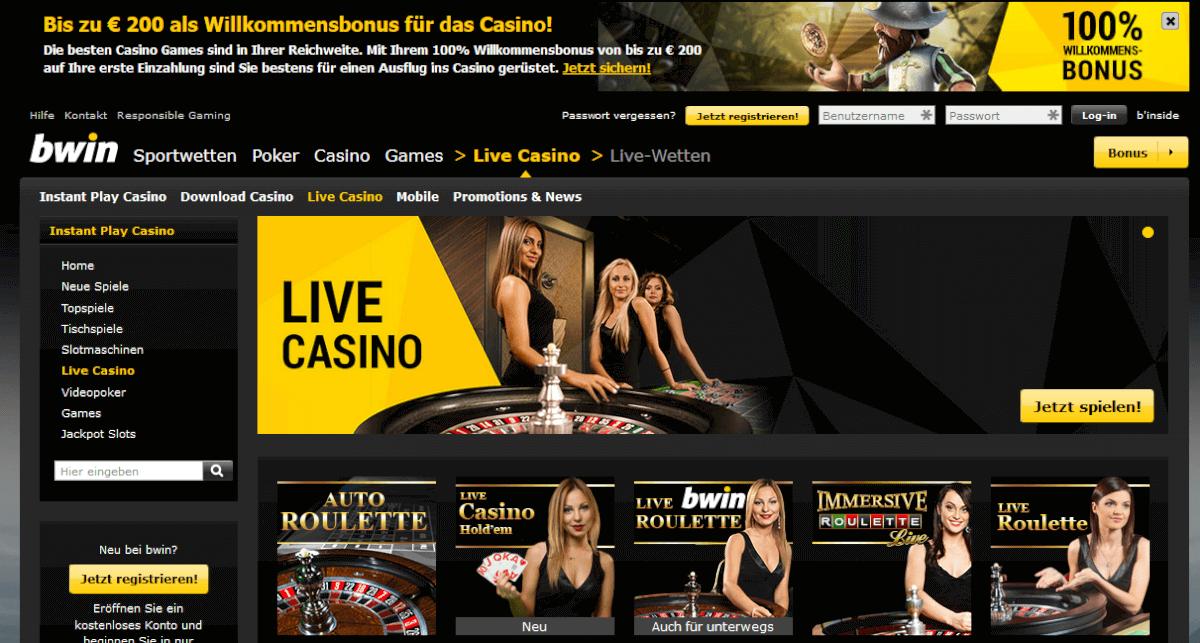 Live Casino - 48489