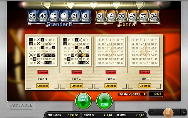 Lotto spielen Speedy - 1018