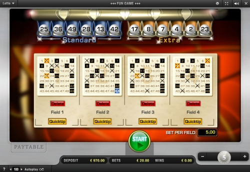Lotto spielen Yako Casino - 68882