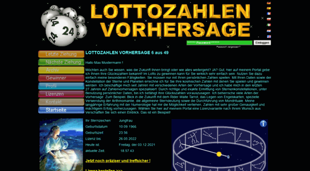 Lotto Statistik 2019 Blueprint - 64049
