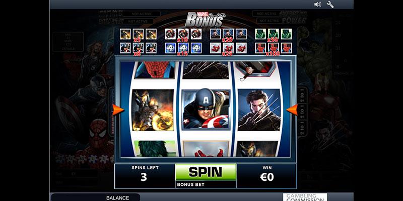 Marvel Slots getestet - 12528