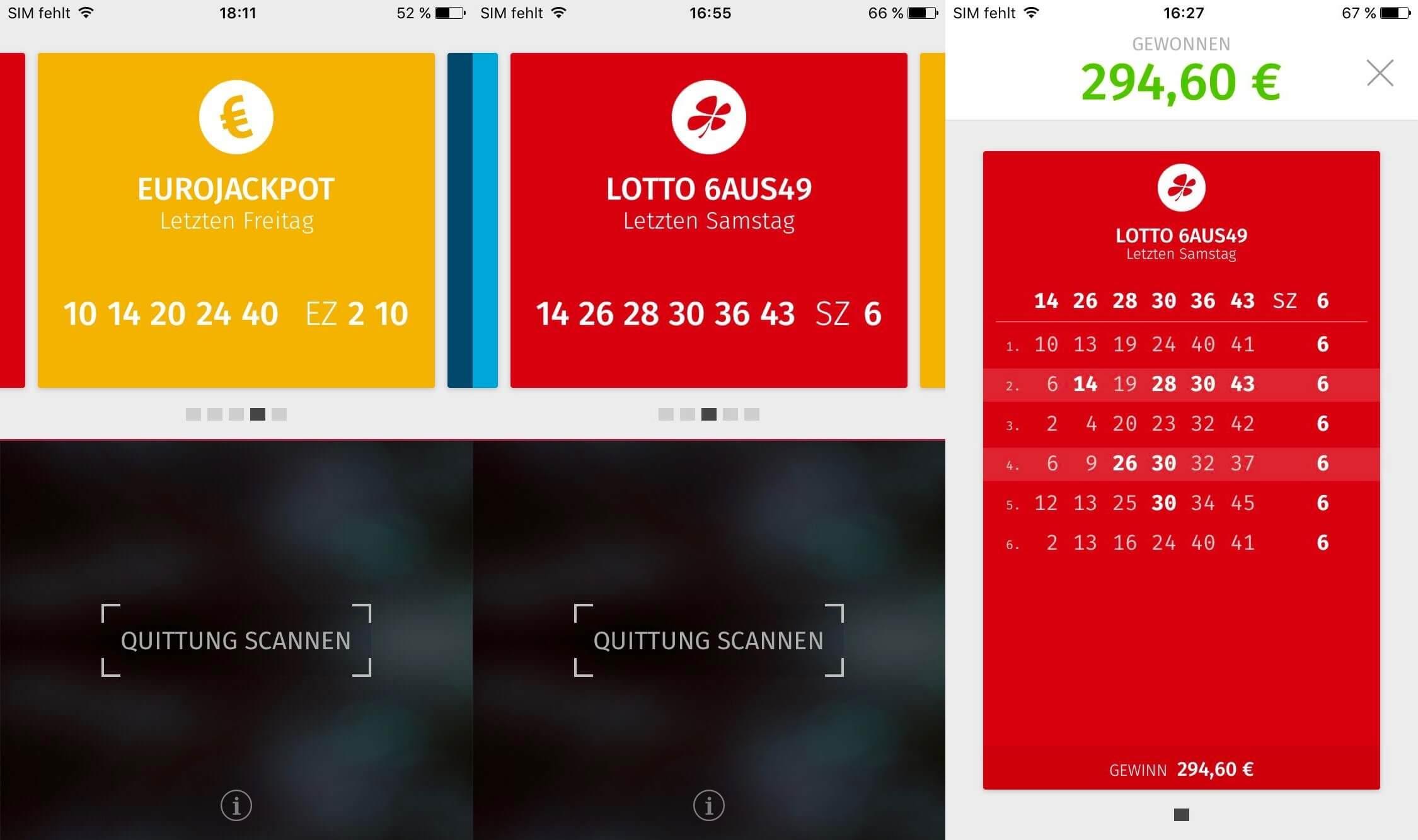 Mega Lottogewinn Sportwetten - 91253