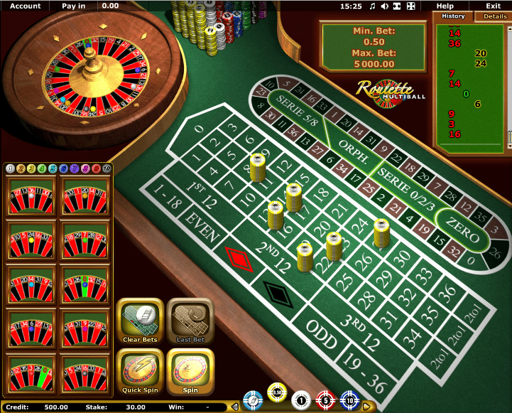 Multiball Roulette - 21162