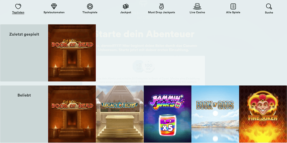 Online Casino Echtgeld Erfahrungen - 3612