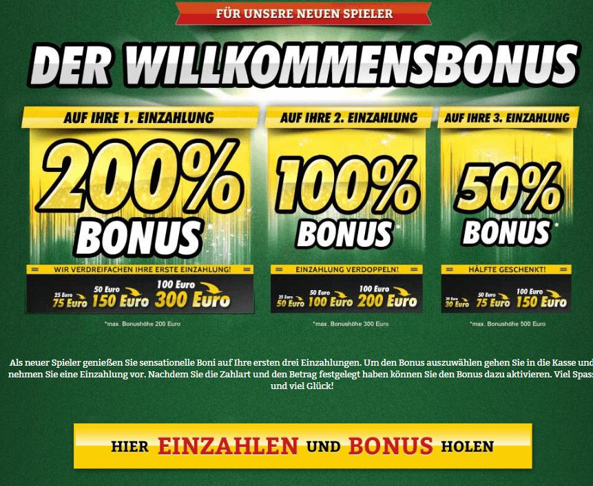 Casinos Mit Echtgeld Bonus Ohne Einzahlung