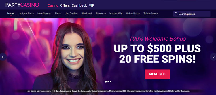 Party Casino free - 12534