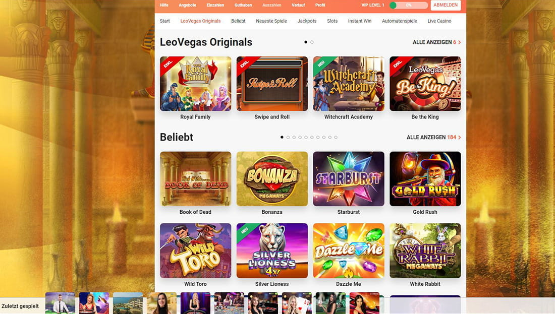 Red Tiger online Casino - 99901