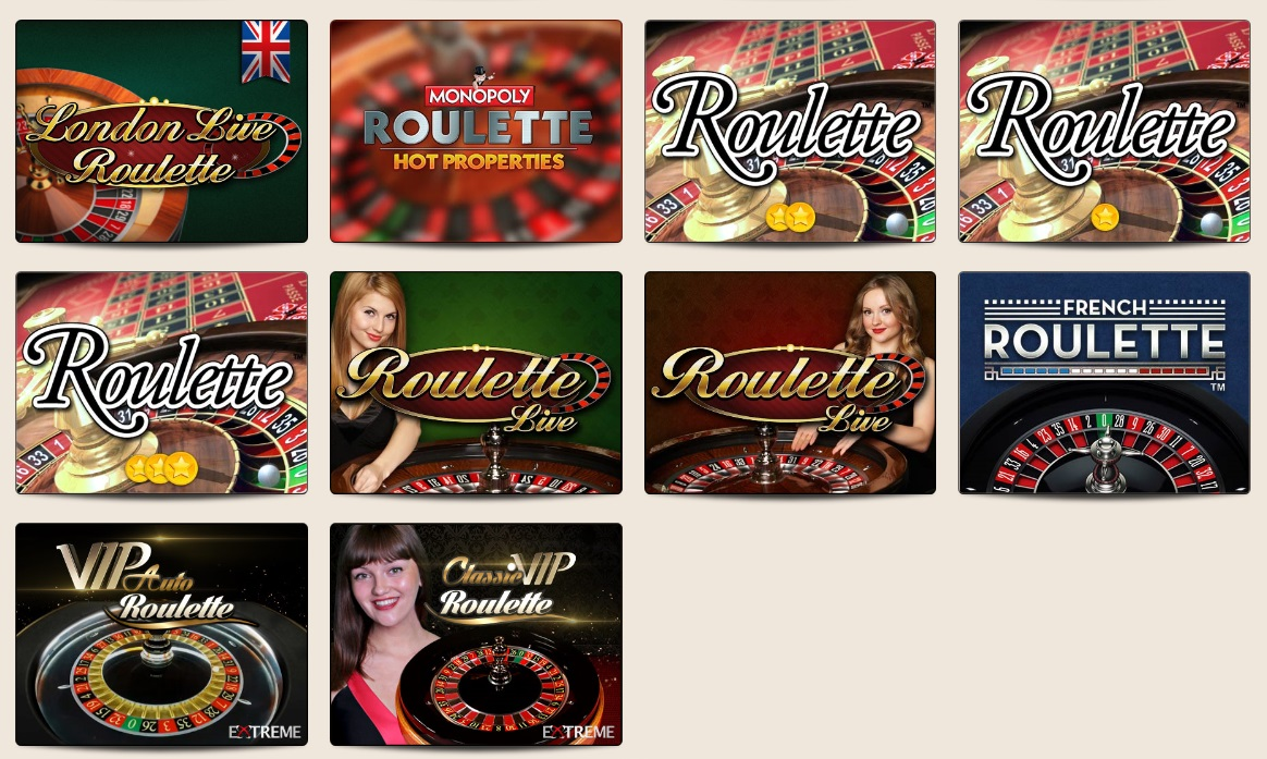 Roulette table game