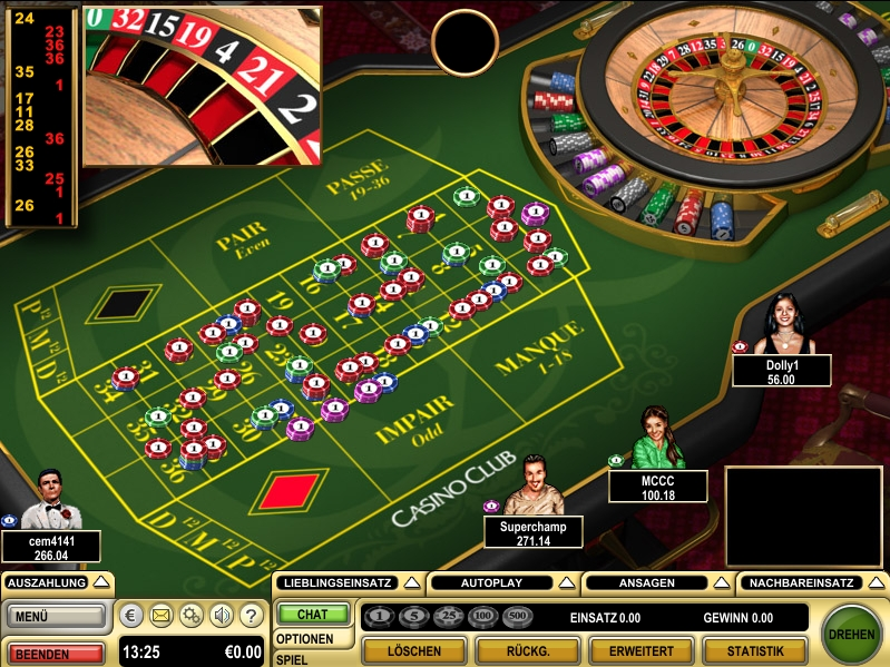 Roulette Systeme ohne - 30524