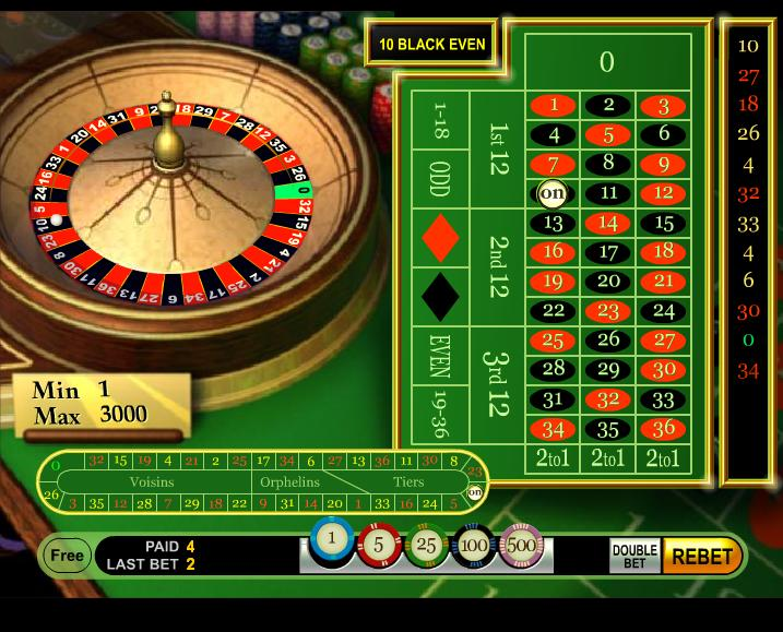 Roulette Systeme - 29666