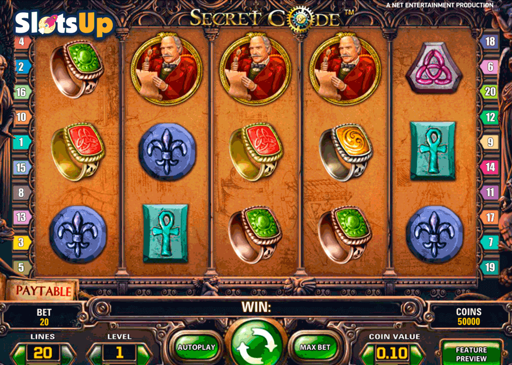 Secret Casino Bonus Codes - 27628