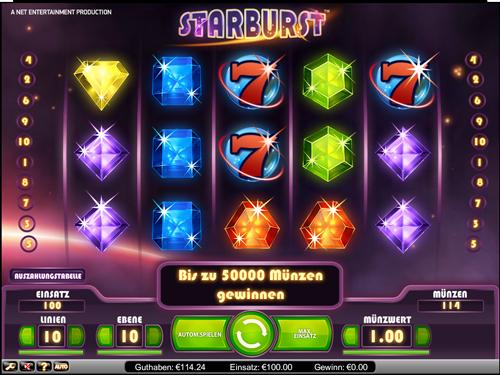 Spielautomaten Microgaming Starburst - 32559